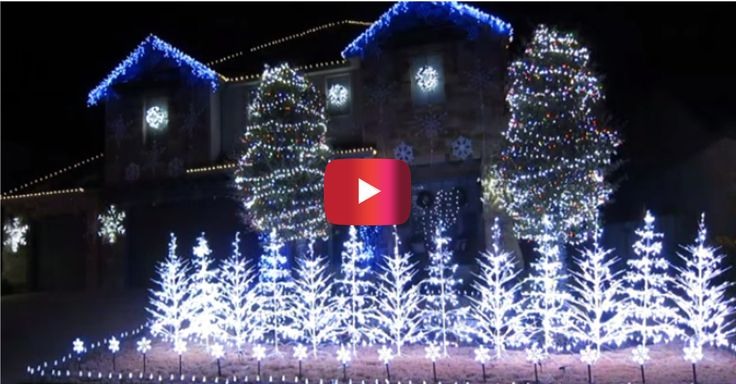 "This Christmas lights show ~~ set to ""Let It Go"" will blow your mind 