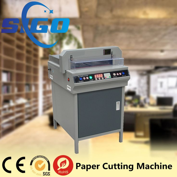 Electric Digital Control A4 Paper Cutting Machine, A3 Paper cutter, Automatic Paper Guillotine