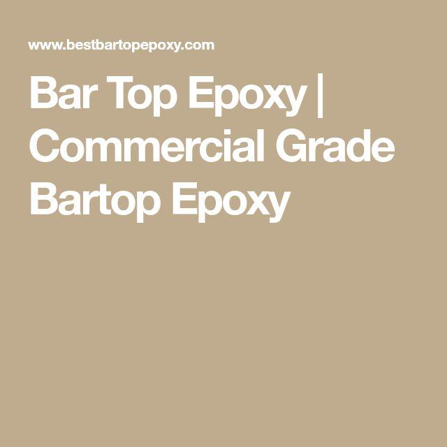 Bar Top Epoxy | Commercial Grade Bartop Epoxy