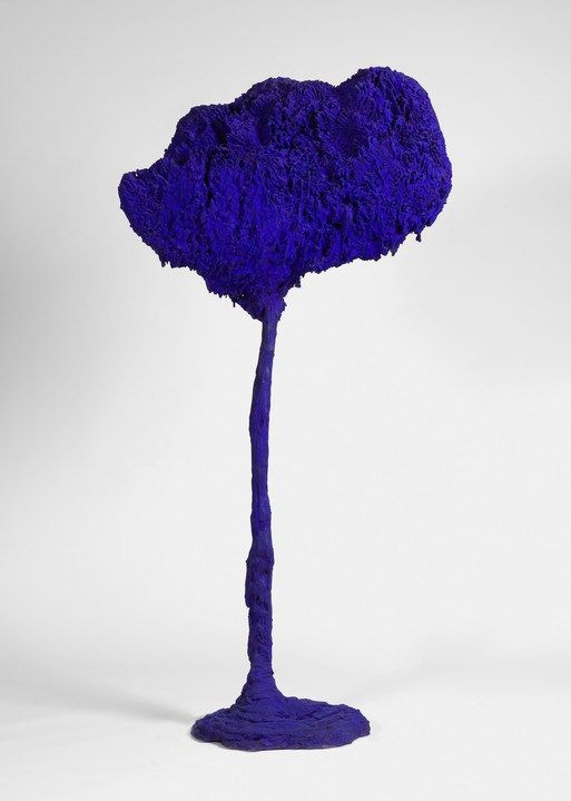 L'Arbre, grande éponge bleue. Yves Klein. IKB (International Klein Blue). 1962…