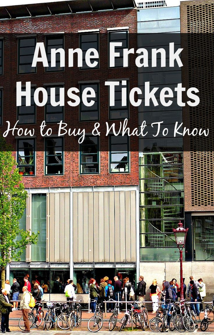 Planning on visiting the Anne Frank House in Amsterdam? Here are some useful tips and everything you need to know about buying Anne Frank House tickets.