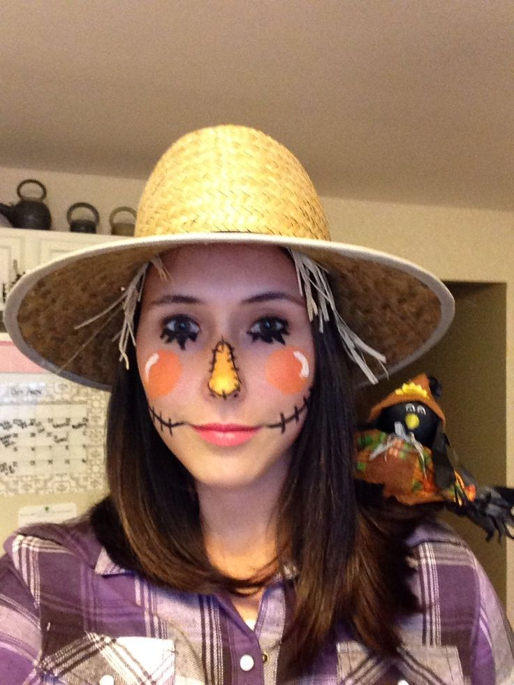 How to dress like a girl scarecrow images