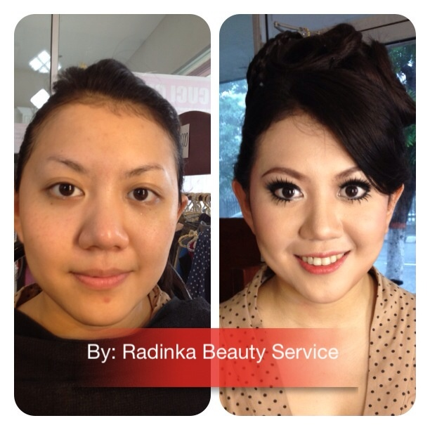 Make up test for the bride to be
