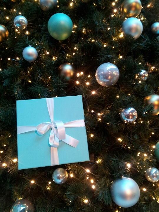 Natale da Tiffany & Co., a Milano presso Excelsior c.so Vittorio Emanuele