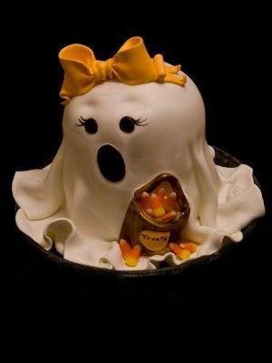 Simple Halloween Fondant Decorations | Happy Halloween! By andi-cakes