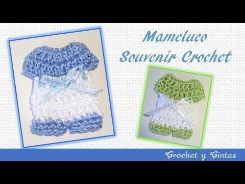 Recuerdo para baby shower a crochet / tutorial paso a paso - YouTube