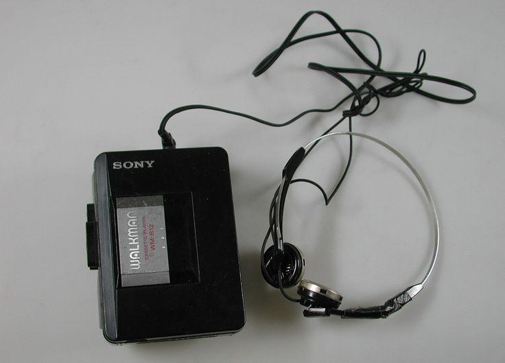 Sony WM-B12 Walkman. CC-BY Amsterdam Museum