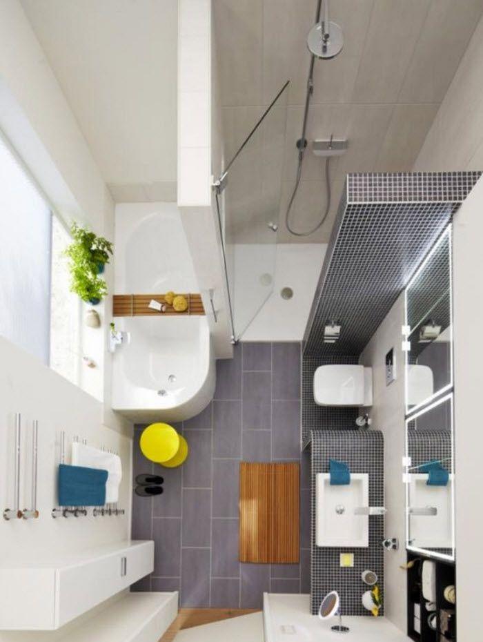 Diseño de cuartos de baño, cómo distribuir y decorar [Fotos] | Construye Hogar