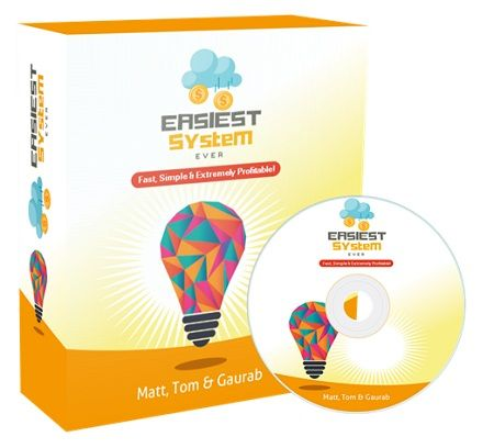 Easiest System Ever Review : A complete over the shoulder video training with Done for you resources and checklists designed to make sales TODAY without fail, and scale without paid traffic or risk.