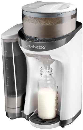 You'll never have to hand-mix formula again with the Baby Brezza.