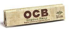OCB Organic Hemp King Size Slim Cigarette Rolling Papers - Lot Of 6 Packs