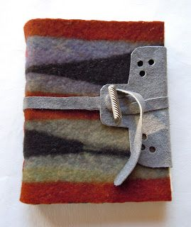 felted piece or recycled piece for cover - either way, i like the idea.   Chad Alice Hagen