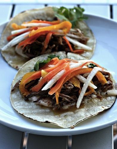 Slowcooker cuban pork tacos: Cooker Recipes, Pork Tacos, Crockpot, Cuban Tacos, Cuban Pork, Slowcooker Cuban, Slow Cooker, Favorite Recipes