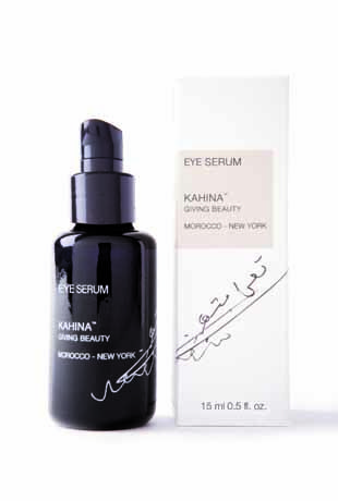 There is nothing better in the world for beautiful and fresh eyes than #Kahina #Eye #Serum