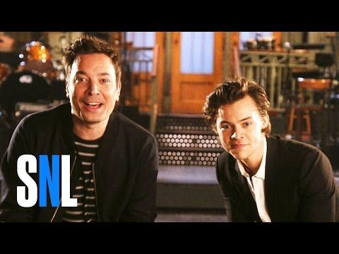 SNL Host Jimmy Fallon and Harry Styles Snap to It - this was too funny. I can't wait till this Saturday.