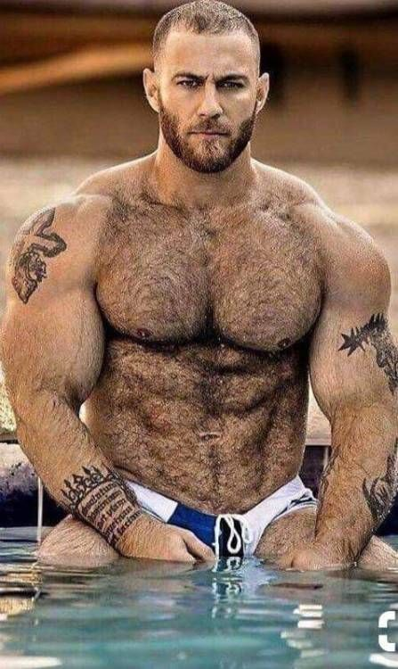 Pin Em Hairy Men-4145