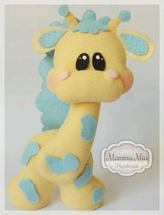 Girafa feltro