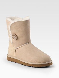 UGG Australia - Bailey Button Sheepskin Short Boots