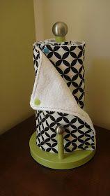 That Short Girl's Blog: Reusable Paper Towel Tutorial