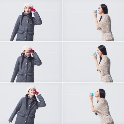 Style No.004 | イメージは北欧の女の子。キルティングのコートは着心地が最高。  フードやボタンなど、ディテールも大好き。 | PLST - Little Trip Party - http://www.plst.co.jp/party/styles/004/