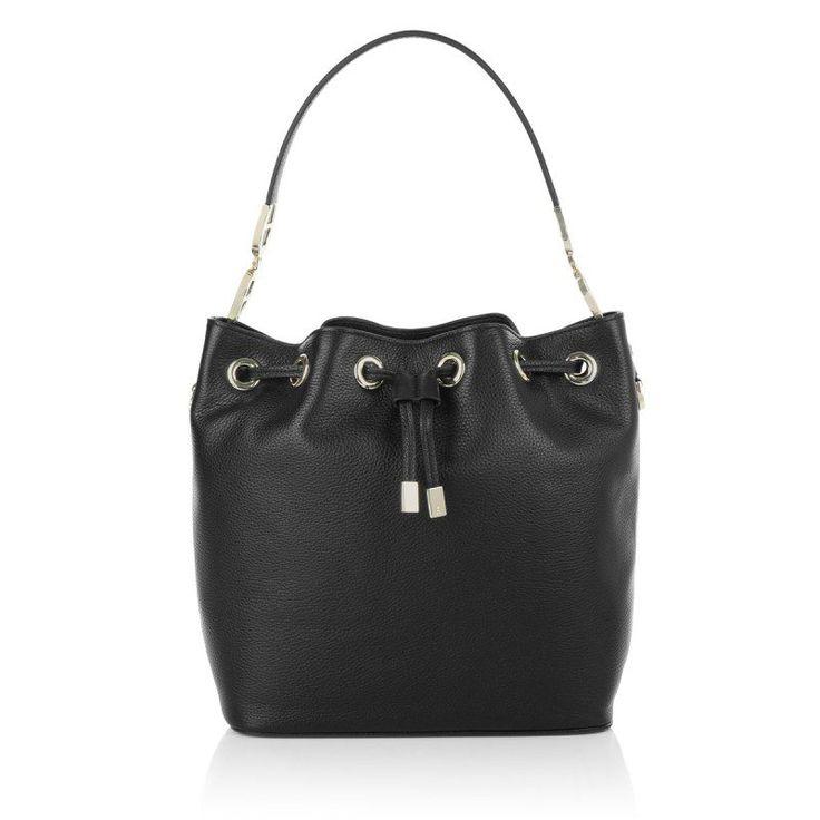 Aigner Aigner Tasche – Drawstring Bucket Bag Black – in schwarz – Umhängetasche für Damen