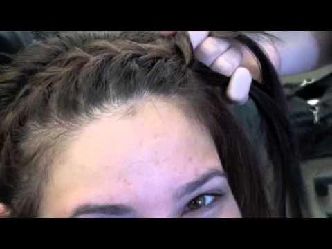 Haarband vlecht is trendy en functioneel! Stap voor stap uitleg.