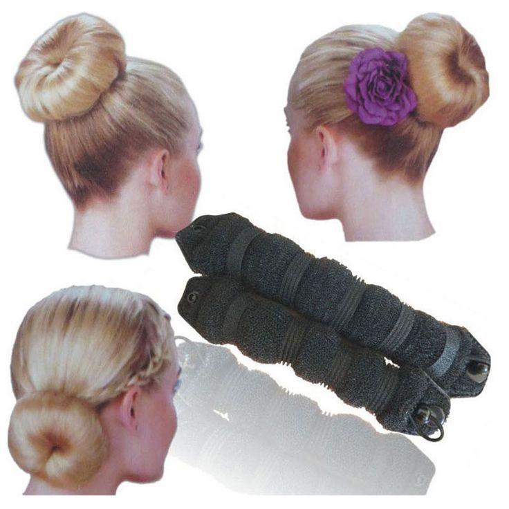2 pcs hot thời trang tóc elegant ma thuật tóc dụng cụ uốn phong cách bun để tạo ra kiểu tóc maker buns (1 lớn 1 nhỏ) 3 Màu Sắc