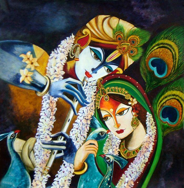 Immortal Love- Radha Krishna by Neeraj Parswal