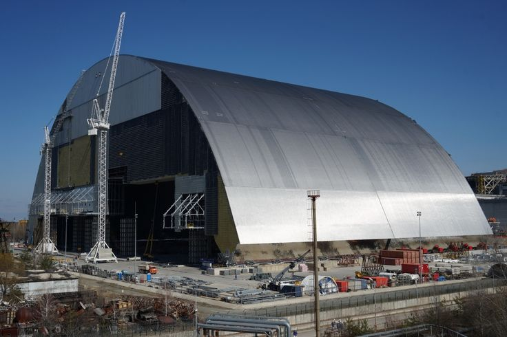 Chernobyl Nuclear Reactor Is Permanently Entombed With World's Largest Movable Structure