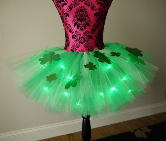 Hey, I found this really awesome Etsy listing at https://www.etsy.com/listing/259111972/st-patricks-day-tutu-running-tutu