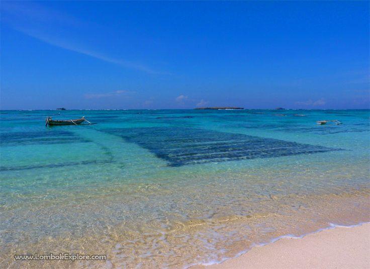 Pantai Semerang (Semerang beach). A beautiful beach in East Lombok, Indonesia. For more information, please visit www.LombokExplore.com.
