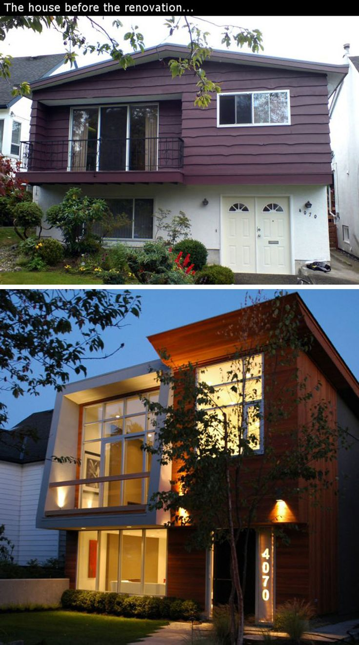 """House Renovation Ideas - 17 Inspirational Before & After Residential Projects 