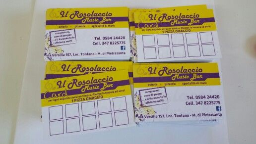 Card Rosolaccio