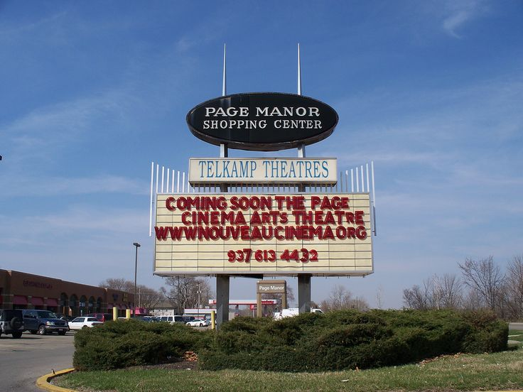 OH Dayton - Page Manor Shopping Center | Sign for Page Manor… | Flickr