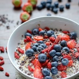 Kickstart your mornings with this bowl full of super foods!
