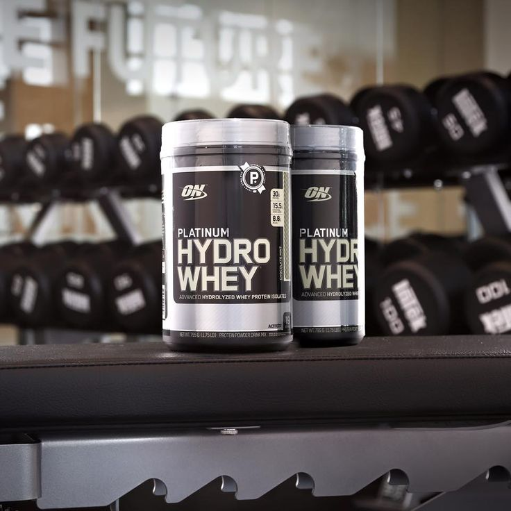 Amp up your recovery with Platinum HydroWhey, our fastest