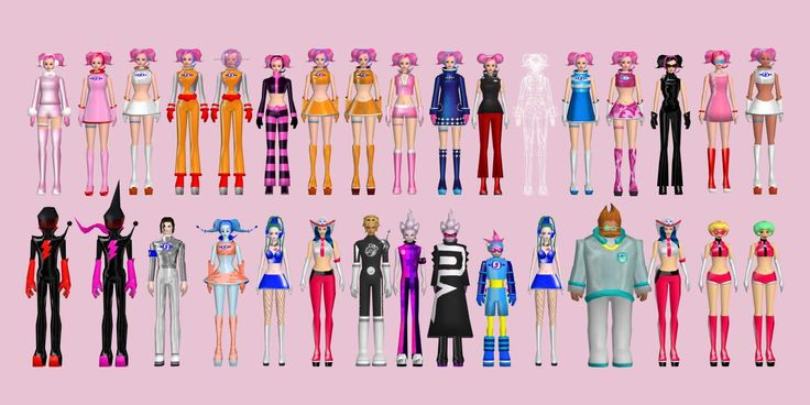 Ulala outfits