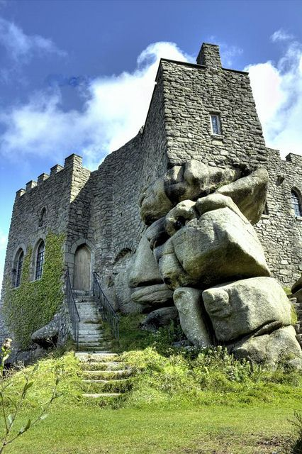 Great shot Carn Brea Cornwall, by @Porthpixie #flickr