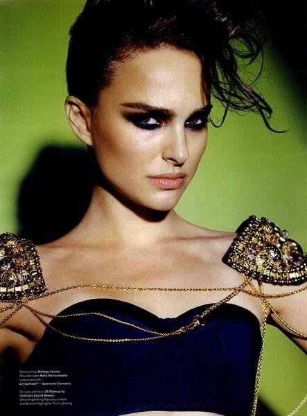 V Editorial Natalie or Northing, Winter 2009 Shot     Charlotte Tilbury makeup
