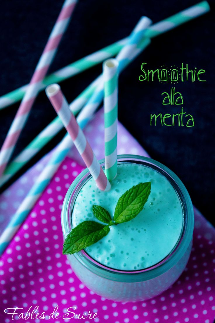 Smoothie+alla+menta
