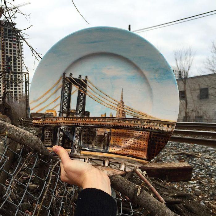 Sanatlı Bi Blog Gezileri Sırasında Fotoğrafı Tabağıyla Tamamlayan Sanatçı: 'Jacqueline Poirier' 26