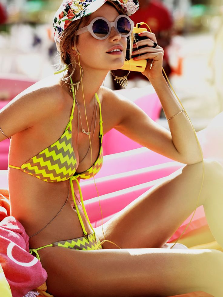 Camille Rowe Heads to Hawaii for Seafolly Spring/Summer 2013 Campaign | Fashion Gone Rogue: The Latest in Editorials and Campaigns