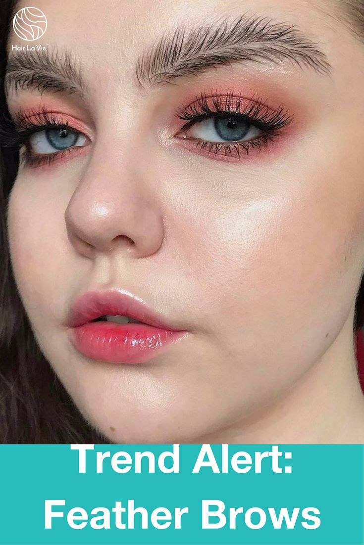 Sparkle shine glitter hair and makeup feathers shimmer - Feather Brows Make Bold Statement As Hot New Instagram Trend