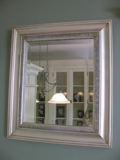 Hopeinen neliö peili | UuttaKotiin.fi