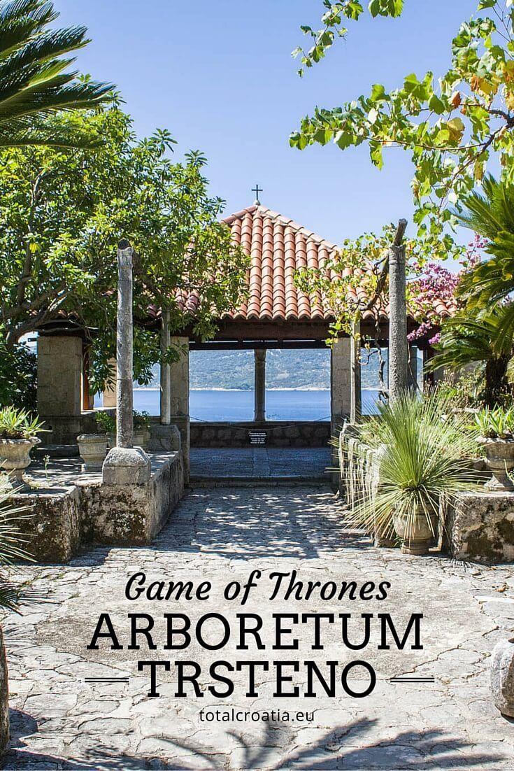 One of several Game of Thrones filming locations: Arboretum Trsteno near Dubrovnik! | totalcroatia.eu