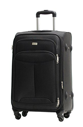 Valise Taille Cabine Alistair One 55cm - Toile Nylon Ultra Léger - 4 Roues