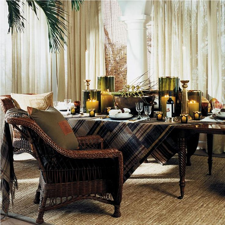 Ralph Lauren Home Archives Cape Lodge Dining Room 2008