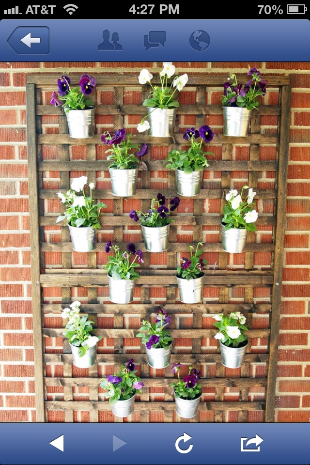 Love this plant idea on the front porch http://www.cape27blog.com/2012/09/diy-vertical-wall-planter/