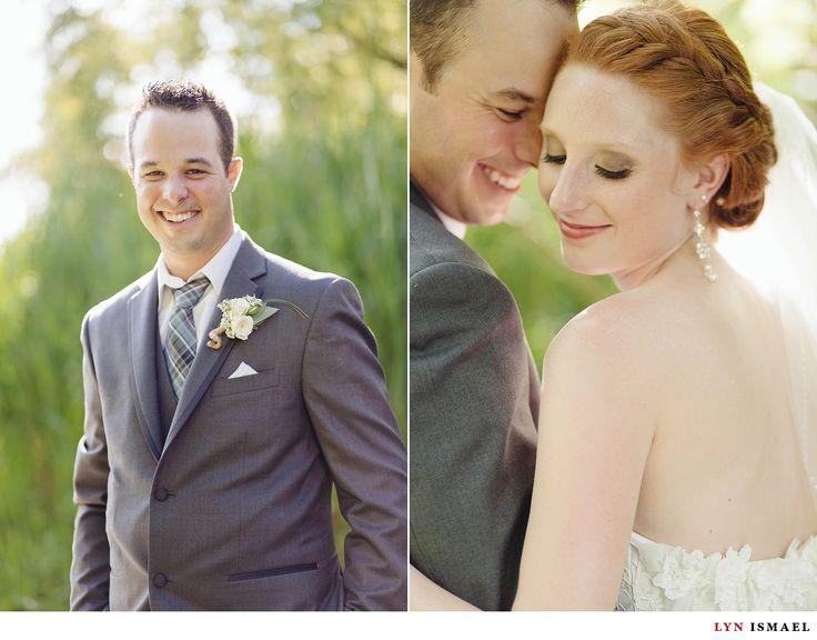 Nithridge Estate Wedding | Abbey and Matt | Braid up do | redhead bride