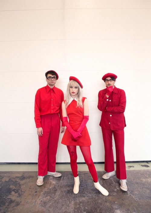 Paramore - on the set of Told You So, right before lunch....